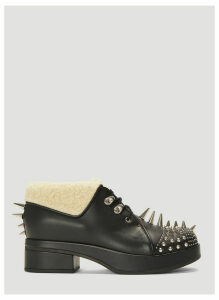 Gucci Embellished Victor Boots in Black size EU - 40