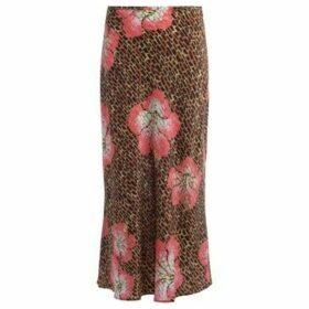 Rixo  Kelly skirt in Hawaii Giraffe print  women's Skirt in Other