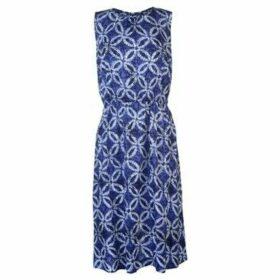 Nvme  Ariana Dress Ladies  women's Long Dress in Blue