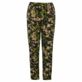 Golddigga  AOP Pants Ladies  women's Trousers in Multicolour