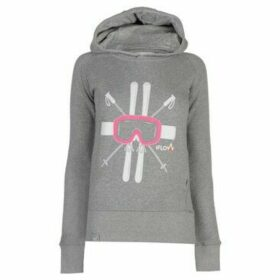 Iflow  Hoody Ladies  women's Sweatshirt in Grey