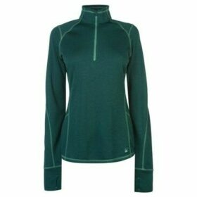 Eastern Mountain Sports  Dual Thermal Half Zip Top  women's Sweatshirt in Green