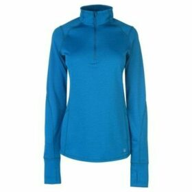 Eastern Mountain Sports  Dual Thermal Half Zip Top  women's Sweatshirt in Blue