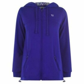 Training Zone  Zip Hoodie Ladies  women's Sweatshirt in Purple