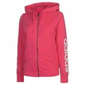 adidas  Full Zip Hoody Ladies  women's Sweatshirt in Pink