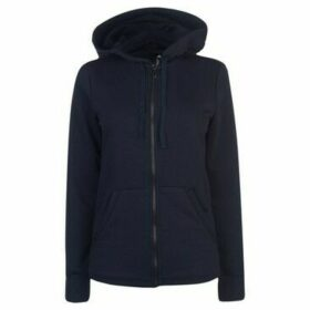 adidas  Full Zip Hoody Ladies  women's Sweatshirt in Blue