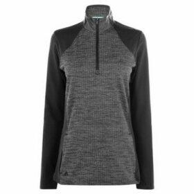 adidas  Half Zip Layer Top  women's Sweater in Grey