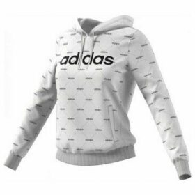 adidas  SUDADERA CON CAPUCHA LINEAR GRAPHIC  women's Sweatshirt in White