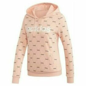 adidas  SUDADERA CON CAPUCHA LINEAR GRAPHIC  women's Sweatshirt in Pink