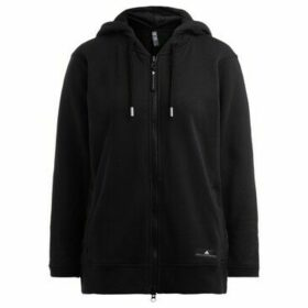 adidas  Adidas sweatshirt by Stella McCartney in black cotton with hood  women's Sweatshirt in Black