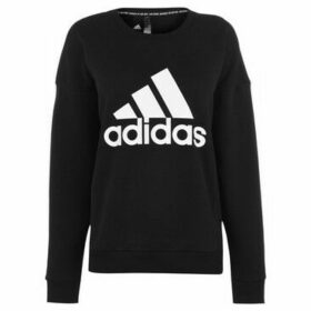 adidas  Crew Neck Sweatshirt Ladies  women's Sweatshirt in Black