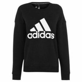 adidas  Crew Neck Sweatshirt Ladies  women's Sweatshirt in Black