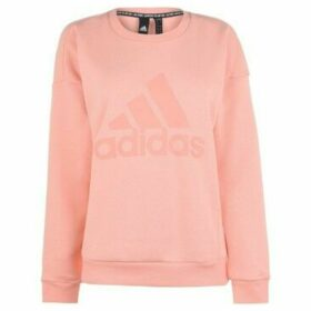 adidas  Crew Neck Sweatshirt Ladies  women's Sweatshirt in Pink