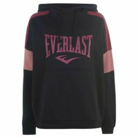 Everlast  Long Line OTH Hoodie Ladies  women's Sweatshirt in Black