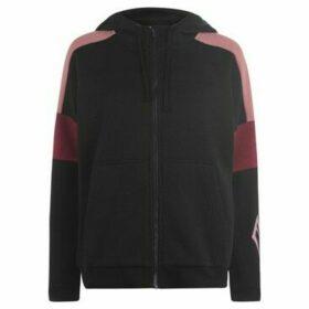 Everlast  Long Line Zip Hoodie Ladies  women's Sweatshirt in Black