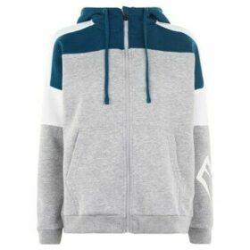 Everlast  Long Line Zip Hoodie Ladies  women's Sweatshirt in Grey