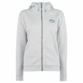 Lonsdale  Zip Hoodie Ladies  women's Sweatshirt in Grey