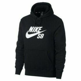 Nike  Unisex SB ICON HOODIE AJ9733 010  women's Sweatshirt in Black