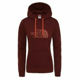 The North Face  W Drew Peak Pull HD 38X Sequoia Red  women's Sweatshirt in Brown