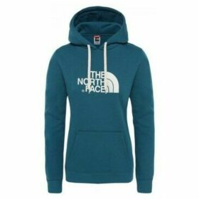 The North Face  W DREW PEAK HD AZUL CORAL  women's Sweatshirt in Blue