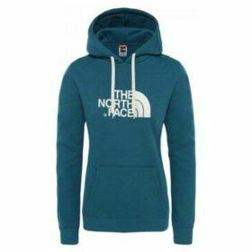The North Face  W DREW PEAK HD AZUL CORAL  women's Sweatshirt in Blue