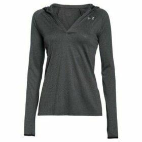Under Armour  Tech LS Hoody  women's Sweatshirt in Grey