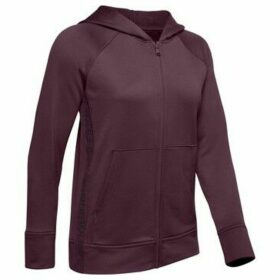 Under Armour  Tech Terry Zip Hoodie Ladies  women's Sweatshirt in Purple