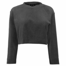 Usa Pro  Velour Sweat Top Ladies  women's Blouse in Grey