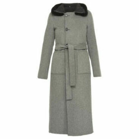 Oakwood  CAPRI long wool coat  women's Trench Coat in Black