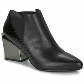 United nude  TETRA JACKY MID  women's Low Ankle Boots in Black