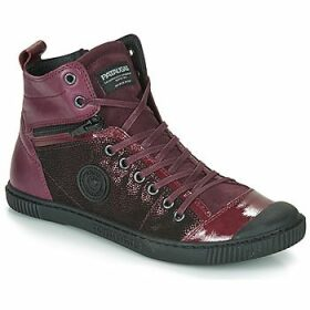 Pataugas  BANJOU  women's Shoes (High-top Trainers) in Purple