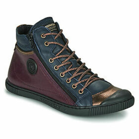 Pataugas  BONO  women's Shoes (High-top Trainers) in Purple