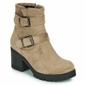 Les Petites Bombes  ELSA  women's Low Ankle Boots in Beige