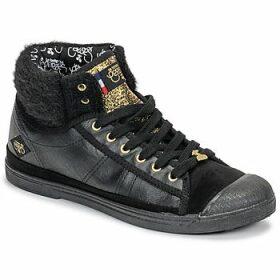 Le Temps des Cerises  BASIC 03  women's Shoes (High-top Trainers) in Black