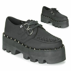 TUK  DINO LUG CREEPERS  women's Casual Shoes in Black