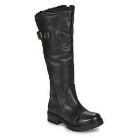 Musse   Cloud  CARLINA  women's High Boots in Black