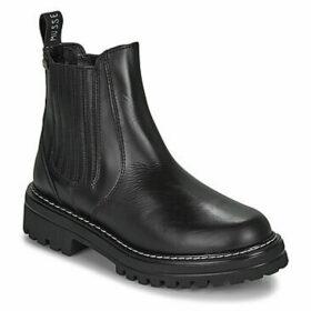 Musse   Cloud  JACKY  women's Mid Boots in Black