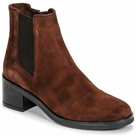 Casual Attitude  LIOO  women's Low Ankle Boots in Brown
