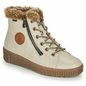 Remonte Dorndorf  SERNNA  women's Shoes (High-top Trainers) in Beige
