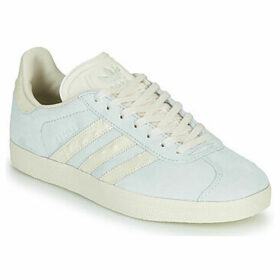 adidas  GAZELLE W  women's Shoes (Trainers) in Blue