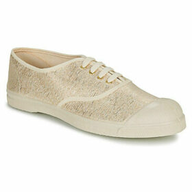 Bensimon  TENNIS LACET  women's Shoes (Trainers) in Gold