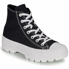 Converse  CHUCK TAYLOR ALL STAR LUGGED HI  women's Shoes (High-top Trainers) in Black