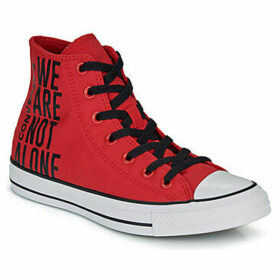 Converse  CHUCK TAYLOR ALL STAR WE ARE NOT ALONE - HI  women's Shoes (High-top Trainers) in multicolour