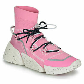 Kenzo  K SOCK SLIP ON  women's Shoes (High-top Trainers) in Pink