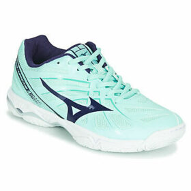 Mizuno  WAVE HURRICANE 3  women's Indoor Sports Trainers (Shoes) in Blue