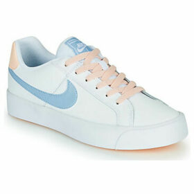 Nike  COURT ROYALE AC W  women's Shoes (Trainers) in White