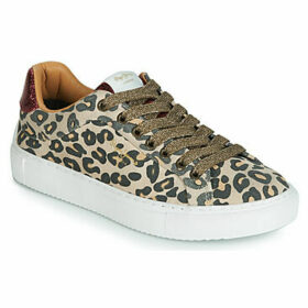 Pepe jeans  ADAM SABA  women's Shoes (Trainers) in Brown