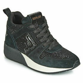 Replay  KEELING  women's Shoes (High-top Trainers) in Black