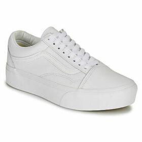 Vans  OLD SKOOL PLATFORM  women's Shoes (Trainers) in White