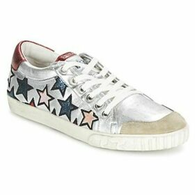 Ash  MAJESTIC  women's Shoes (Trainers) in Silver